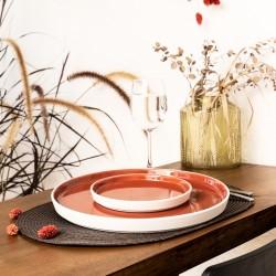 Assiettes Passion Terracotta ZOHAL