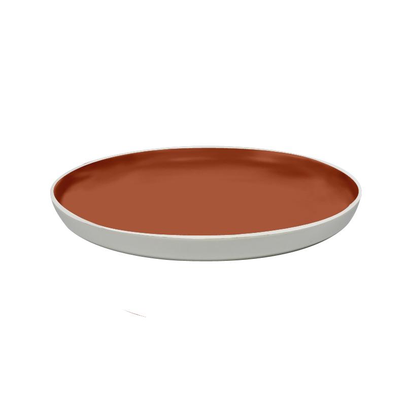 Grande Assiette Passion Terracotta ZOHAL